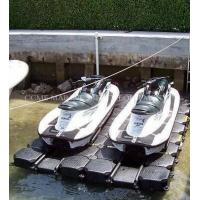 Wholesale HDPE floating pontoon, floating platform for boat and jet ski from china suppliers