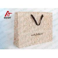 Wholesale Eco Friendly Recycled Personalised Paper Carrier Bags Medium Size 250 * 110 * 300mm from china suppliers