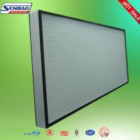 Buy cheap High Efficiency Hepa Air Filters , Air Conditioner Hepa Filter Air Purifier from wholesalers