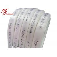 Quality 32mm personalized printed ribbon For Wrapping Products , logo printed gift wrap ribbon for sale