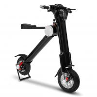 Quality 36v *48V Li Battery Black colour with Led light  Durable Folding Mobility Scooter for sale