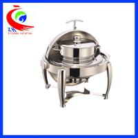 Wholesale Round Roll -Top Chafing Dish / Buffet Warming Dish Equipment 220V / 110V from china suppliers