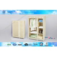 Wholesale Fabric and Steel Tube Multi-layer Wardrobe Garage Storage Racks for Quilts and Towels from china suppliers