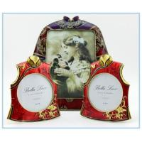 Wholesale Shinny Gifts Metal handmade chinese dress photo frame for wedding gifts from china suppliers