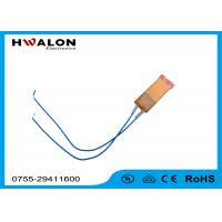 Wholesale PTC Ceramic Heater Thermistor , Ceramic Resistor Heater With Two Leads from china suppliers
