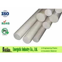 Wholesale Plastic White PEEK Rod With 500mm - 1000mm Length For Engineering Parts from china suppliers