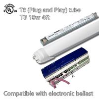 Wholesale 19W T8 SMD 4ft Led Fluorescent Tube Lights 2280lm With Electronic Ballast from china suppliers