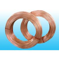 Wholesale Welded Refrigeration Copper Tube / Bundy Pipe For Compressor 6 * 0.5 mm from china suppliers