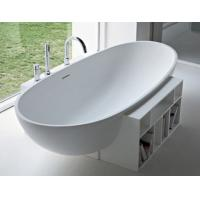 Wholesale acrylic solid surface material bathtub from china suppliers