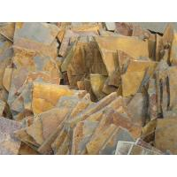 Wholesale Natural Paving Stone Rust Slate Irregular Patio Flooring Multicolor Slate Patio Pavers from china suppliers