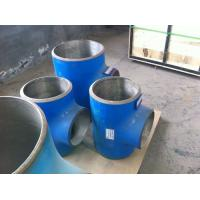 Wholesale carbon A234 WPB and stainless 304 composite Elbow tee fittings from china suppliers