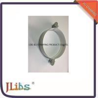 Wholesale White Galvanised Steel M7 Cast Iron Pipe Clamps With Riveted Nuts from china suppliers