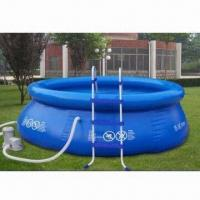 Wholesale Inflatable Pool, inflated easily and quickly for instant use, customized colors welcomed from china suppliers