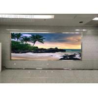 Buy cheap P5 Meeting Message Wall Indoor LED Displays Anti - UV Module SMD3528 Fast Maintenance from wholesalers