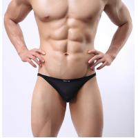 Wholesale V - Shaped Mens See Thru Underwear Black Mens Mesh Briefs Underwear from china suppliers