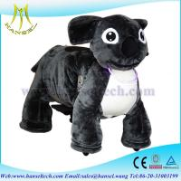 Wholesale Hansel animal ride for mall plush motorized animals stuffed animals with wheel from china suppliers