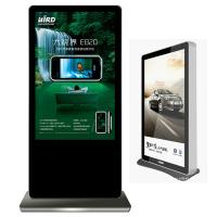 Wholesale Custom Touch screen Floor Standing Digital Signage 450cd / m2 plug and play from china suppliers