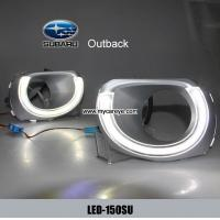 Wholesale Subaru Outback DRL LED Daytime Running Light guide car driving daylight from china suppliers