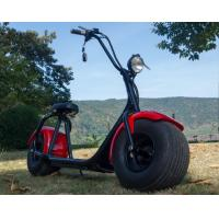 Adult 1 Person Recret Red Electric Moped Bike With 1000W Engine