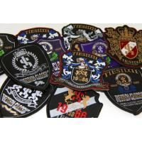 Wholesale Promotional Embroidery Badges Custom Embroidered Patches For Jackets from china suppliers