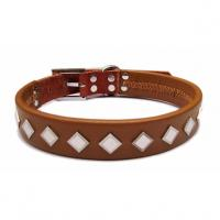 Wholesale 2012 wholesale real leather dog collar, collar for dog from china suppliers