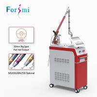 Wholesale Epidermal and dermal pigment removal Q-switch Nd yag laser 1064nm/532nm 2017 hottest machine for sale from china suppliers