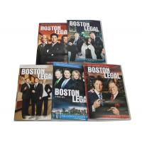 Wholesale Best Movie Captioned Closed TV DVD Box Sets Boston Legal Season 1-5 Series from china suppliers