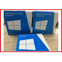 Wholesale Genuine 64 Bit  DVD windows server 2012 standard 5 user  Full version Retail Box from china suppliers