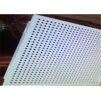Wholesale Fireproof Suspended Perforated Aluminum Ceiling Tiles 0.5 - 1.2mm Thickness from china suppliers