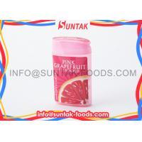 Quality Fresh Air Fruits Pressed Candy Grapefruit Flavored Sugar Free Candy Manufacturer for sale