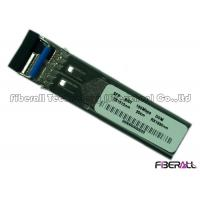 Wholesale BiDi Single Mode Fiber Transceiver , 155M SFP Optical Transceiver With DDM from china suppliers