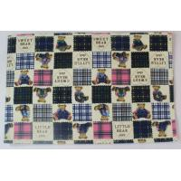 Wholesale Fashionable Embroidery Dining Table Mats With Cute Bear Printed from china suppliers