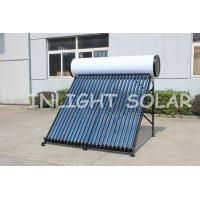 Quality High Pressure Domestic Pressurized Solar Water Heater Color Steel Integrated Heat Pipe for sale