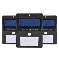 Wholesale waterproof IP65 solar motion sensor light for garage from china suppliers