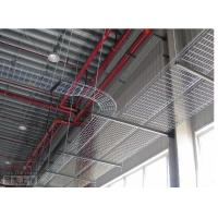 Wholesale Industrial hot dipping electrical outdoor straight wire mesh cable tray, 100*50mm from china suppliers