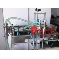 Wholesale Semi Automatic Liquid Filling Machine for Cosmetic with Double Heads from china suppliers