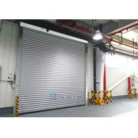 Wholesale Aluminum Alloy Panel Workshop Industrial Security Doors Wind Load Max 30m / s from china suppliers