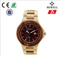 Wholesale Waterproof Man Wood Wrist Watch , Charming Metal Buckle Wooden Hand Watch from china suppliers