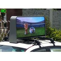 Wholesale Waterproof IP65 Video Car LED Sign Display , 5 Years Warranty Meanwell Power Supply from china suppliers