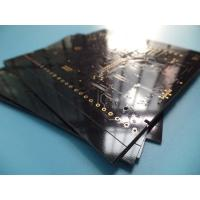 Wholesale 4 Layer Immersion Gold PCB FR -4 Material ITEQ / 1.6mm Thick Black PCB from china suppliers