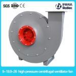 High pressure centrifugal ventilator fan 9-19 9-26 series centifugal fan