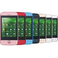 Wholesale 9860 Quad Band Dual SIM Card Dual Standby Mobile Phones With 3.8 Inch LCD Display , WIFI from china suppliers