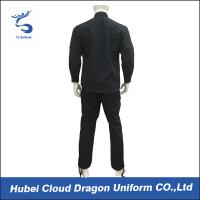 Wholesale Poly Cotton Security Police SWAT Uniforms With Three Slot Pen Pocket from china suppliers