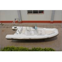 Wholesale 19ft/5.8m rigid inflatable RIB boat fishing boat with CE, hypalon or PVC,fishing boat from china suppliers