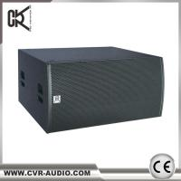 Wholesale CVR Pro Audio Factory Active Dual 18 Inch Subwoofer Speaker Dsp Power Amp from china suppliers