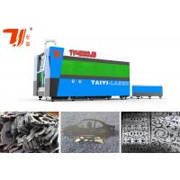 Wholesale Fiber Laser Metal Cutting Machines Cutting Thickness SS Upto 12mm , 3000x1500mm from china suppliers