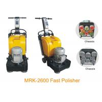 Quality Fast Speed 2600RMP Stone Marble Floor Polishing Equipment With Three Phase for sale