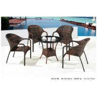 Wholesale 2014 pe rattan wicker coffee table chair outdoor sets from china suppliers