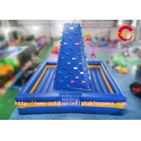 Wholesale Outdoor Air Rock Mountain Inflatable Climbing Walls For Children Sports Game from china suppliers