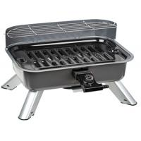 Wholesale Electric and Charcoal BBQ Grill (Two in One) EMGR182, Cooking area:40x25cm, With wind shield, 2000W from china suppliers